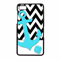 Chevron Anchor Personalized BlackBerry Z10 Case