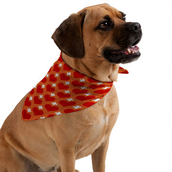Caroline Okun Love Saves Pet Bandana