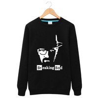 Breaking Bad Heisenberg Walter White Man men round neck jacket Ms. 2016 fall and winter clothes new Thick Sweatshirts