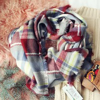 Autumn Falls Plaid Scarf
