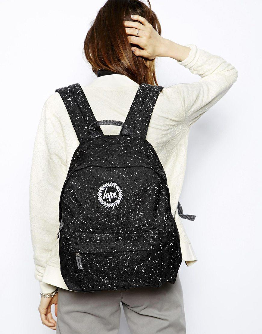 2d8608096392 Hype Black Pink Speckle Backpack- Fenix Toulouse Handball