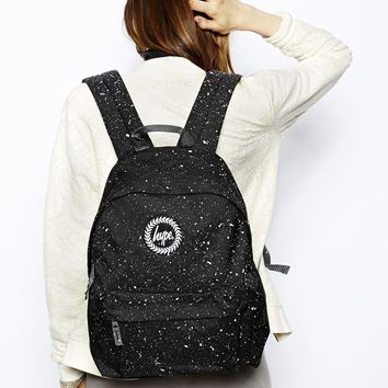 Hype Speckle Backpack - Black