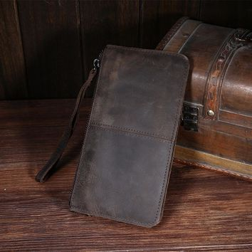 Men's Wallets Coin zipper Pocket