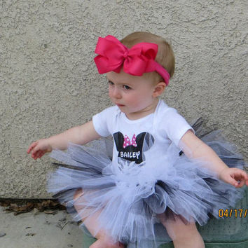 Infant and Toddler Tutus by BaileyHadaParty on Etsy