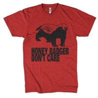 Funny tshirt the Honey Badger t shirt crazy t shirt design