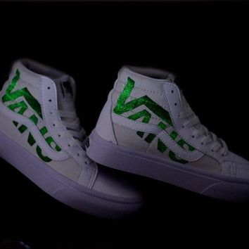 Luminous version vans Winter White neutral plate shoes casual Shoes