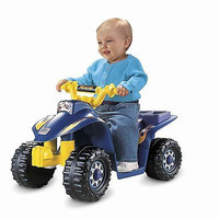Power Wheels Toddler Quad Fisher Price Ride Bike Battery Kids Toy Kid New