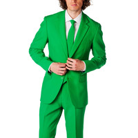 The Irish Riverdance Green Dress Suit