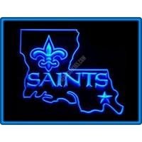 New Orleans Saints American Football Neon Light Sign
