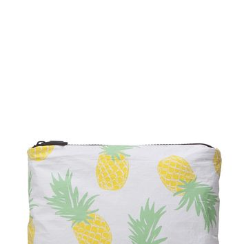 ALOHA Collection Small Pineapple Express Pouch in Yellow
