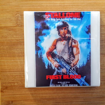 Single Tile Drink Coaster Rambo First Blood Movie Tile