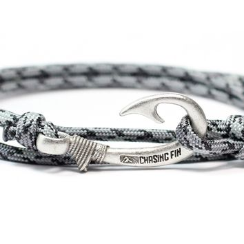 Titanium Fish Hook Bracelet
