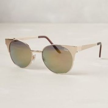 Dimanche Sunglasses by Anthropologie Gold One Size Eyewear
