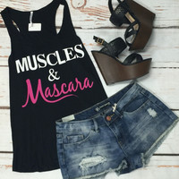 Muscles & Mascara: Black