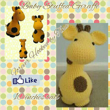 Giraffe Stuffed toy, Amigurumi
