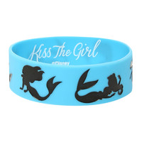 The Little Mermaid Ariel Silhouette Rubber Bracelet