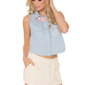 Dream On Skort - Ivory