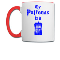my patronus is tardis - Coffee/Tea Mug
