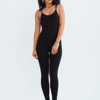 Sorella After Party Unitard Black