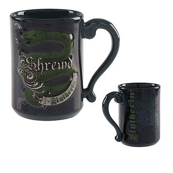 Universal Studios Wizarding World Harry Potter Slytherin Shrewd Coffee Mug New