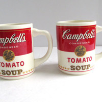 vintage Cambell's Tomato Soup Mugs