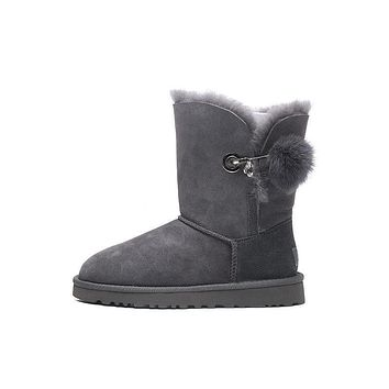 Best Deal Online UGG Limited Edition Classics Boots IRINA Women Shoes GREY 1017502