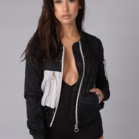 Love Lace Jacket - Black