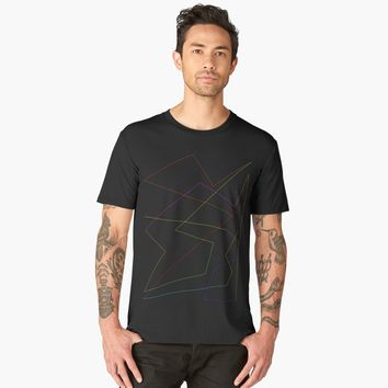 'Hypnotzd Abstract Art 116' Men's Premium T-Shirt by hypnotzd