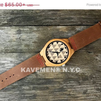 SALE Personalized Wood Watch. Mens Watch. Engrave Watch. Personalized Watch. Mens Watches. Mens Personalized Watch. Nevada. Kavemen.