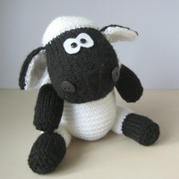 Ally the Sheep toy knitting pattern