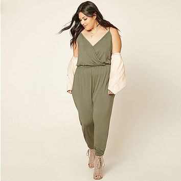 5XL 6XL Summer Jumpsuit 2017 New Women Turtleneck Sleeveless Sexy Club Jumpsuits Fashion Printed Bodycon Rompers Womens Jumpsuit