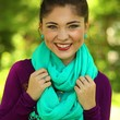 Get Cozy Infinity Scarf in Mint