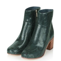 BLESS Snake Ankle Boots - New In This Week - New In