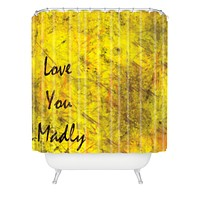Amy Smith Love You Madly Shower Curtain