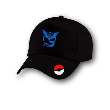 Sale - Team Instinct Pokemon Go Cap, Team mystic pokemon Cap, Team Volar Pokemon Go Cap, Pokemon Go cap, Pokemon Go Hat, Pokemon Cap, Team