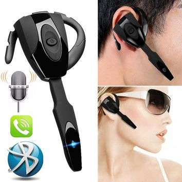 EarHook Wireless Stereo Bluetooth Gaming Headset Headphone Earphone Handsfree with Mic (Size: Bluetooth Earphone)