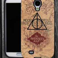 Harry Potter  Marauders Map hallows logo-IPhone 5 case,IPhone 4,4S,Samsung Galaxy S2 i9100,Samsung S3 i9300,Samsung S4 i9500-B-2462013-4