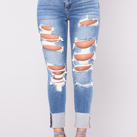 Kendall Jeans - Medium Wash