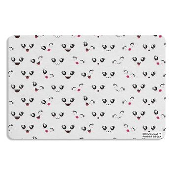 Kyu-T Faces AOP Placemat All Over Print by TooLoud
