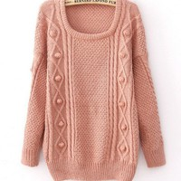 Wool loose thicker sweater