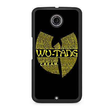 Wu-Tang Clan Nexus 6 case