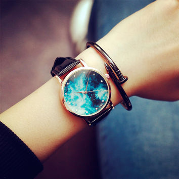 Comfortable Vintage Fashion Quartz Classic Watch Round Ladies Women Men wristwatch On Sales (With Thanksgiving&Christmas Gift Box)= 4662273412