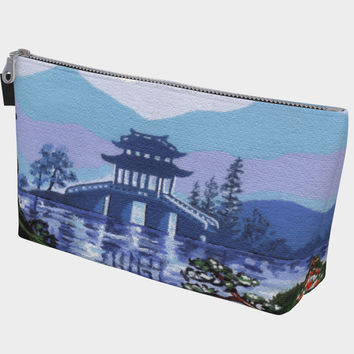 Japanese landscape Makeup Bag Makeup Bag