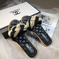 CHANEL Fashionable casual sandals