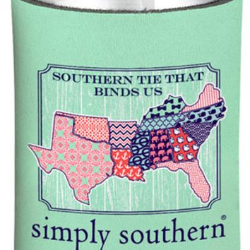 Simply Southern Patch  Koozie
