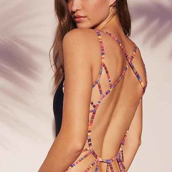 ale By Alessandra Baha Coast One-Piece Swimsuit
