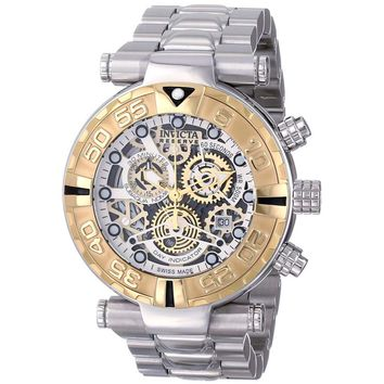 Invicta 15617 Men's Subaqua Noma I Skeleton Dial Chronograph Dive Stainless Steel Watch