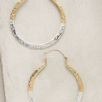 Dipped Mercury Hoops