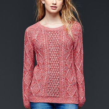 Gap Cable Knit Pullover Sweater