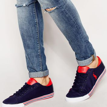 Polo Ralph Lauren Harvey Low Trainers